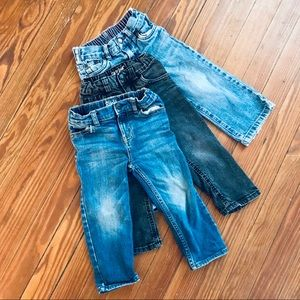 Lot of 24M/2T Adjustable Skinny/Straight Jeans